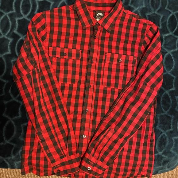 Nike Long Sleeve Button Down Shirt